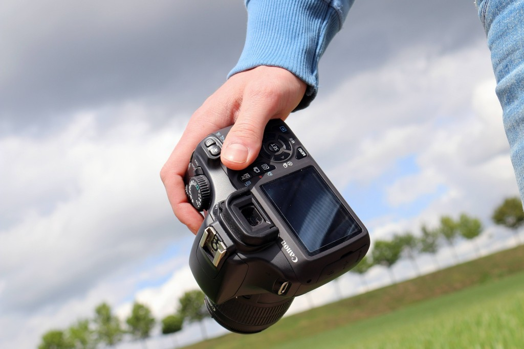 Fotoshooting Kamera